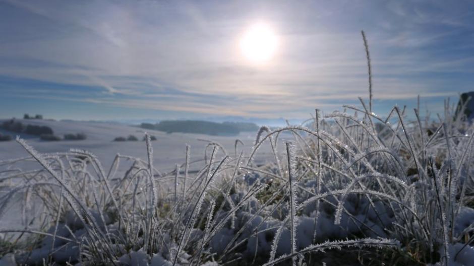 Sonne und Frost