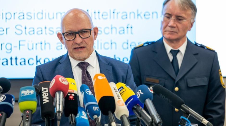 Verdächtiger nach  Angriffen  in Nürnberg festgekommen - PK