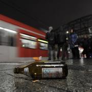 Alkoholverbot am Bahnhof