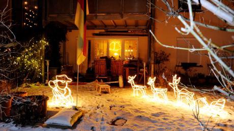 Ein Bild aus dem Archiv: Zuletzt lag in Augsburg 2010 Schnee an Heiligabend.