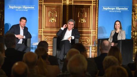 Beim Forum Live der Augsburger Allgemeinen sprach Siemens-Chef Joe Kaeser klar an, was ihn umtreibt und kritisierte auch Bayerns Ministerpräsident Markus Söder.