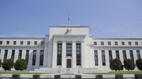 Das Marriner S. Eccles Federal Reserve Board Building, Hauptsitz der US-Notenbank Federal Reserve (Fed).