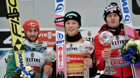 Ergebnisse Vierschanzentournee: Skispringen in Garmisch-Partenkirchen.