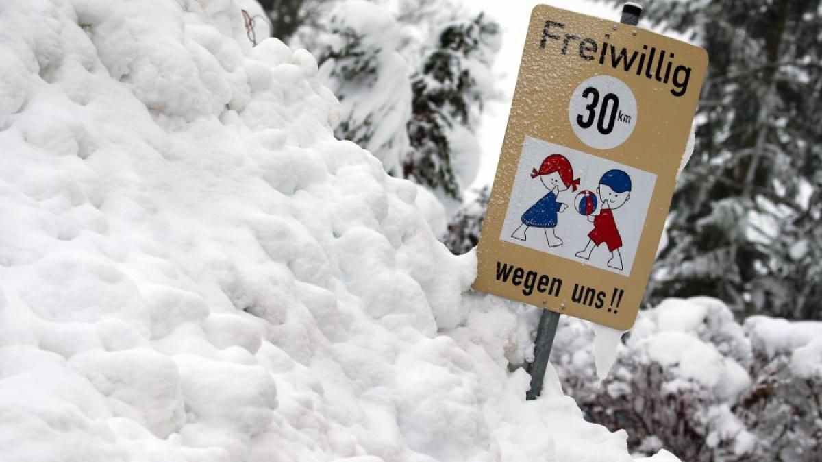 Hier fällt morgen in Bayern die Schule aus
