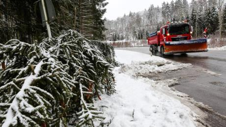 Der Deutsche Wetterdienst rechnet für die kommenden Tage im Unterallgäu mit starkem Schneefall und hat deshalb eine Unwetterwarnung herausgegeben.