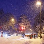 Wintereinbruch, Schneechaos, Wetter,Winter, Schneefall,
