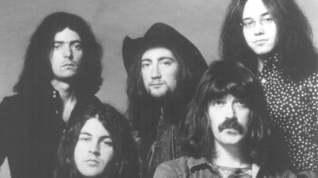 Deep Purple trat 1969 im Moritzsaal in Augsburg auf.