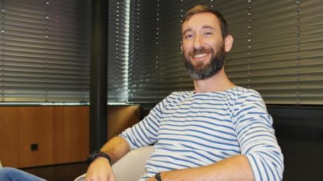 Das ist Flixbus-Gründer Daniel Krauss. Für das Reisen in seinen Bussen der Zukunft hat er konkrete Vorstellungen.