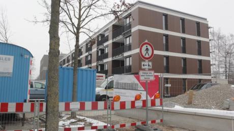 WBG Baustelle Dr. Dürrwanger-Straße, Augsburg-Kriegshaber