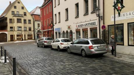 Ludwigstraße - AUTOS GEPIXELT