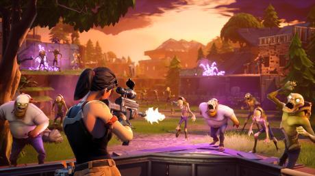 """Das Online-Multiplayer-Spiel """"Fortnite"""" bietet den Nutzern einen eigenen """"Super Bowl"""" als Spielvariante an."""