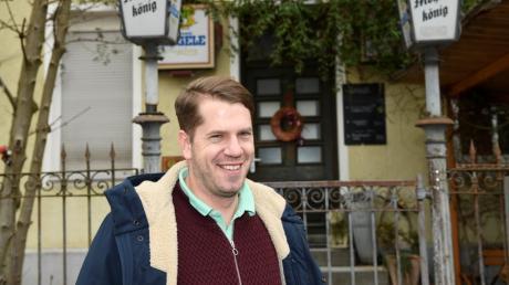 Sebi Hrabak ist der neue Pächter des Mohrenkönigs in der Sulzerstraße im Antonsviertel.