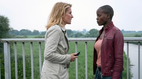 Charlotte Lindholm (Maria Furtwängler) hat ihren Meister gefunden: Anaïs Schmitz (Florence Kasumba) lässt sich nichts gefallen.