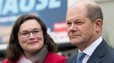 Bei ihren Plänen für eine Abkehr von Hartz IV hat SPD-Chefin Andrea Nahles die Unterstützung von Parteikollege Olaf Scholz. Gegenwind schlägt dem Finanzminister seitens der Grünen entgegen.