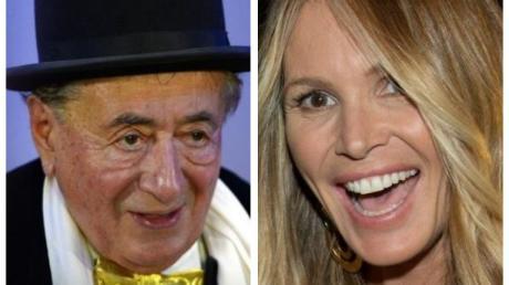 Model Elle Macpherson begleitet Richard Lugner zum Wiener Opernball 2019.