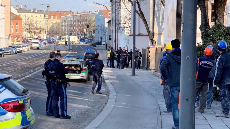 Zwei Tote bei Schüssen auf Baustelle in München
