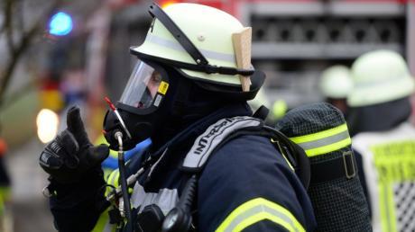 Die Feuerwehr rückte nach Waldstetten aus.