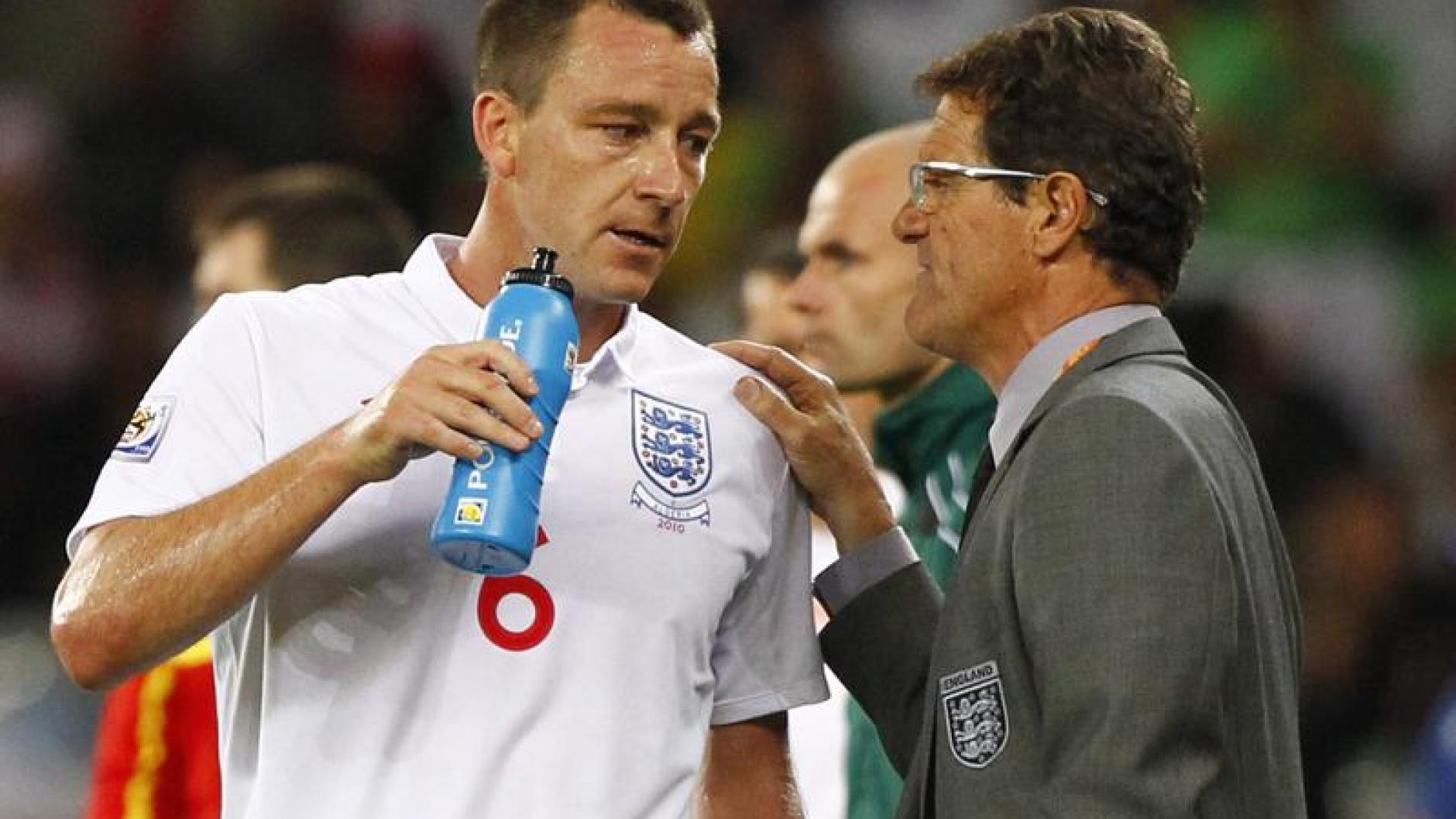 Fußball: Terry lobt Capello: Er hat sich für mich