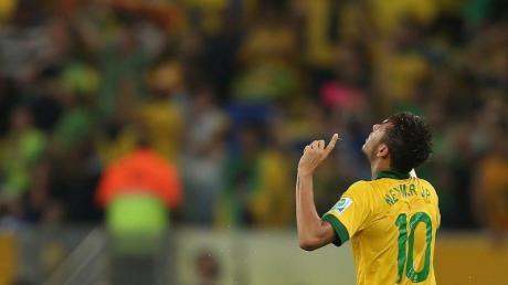 Neymar wurde zum besten Spieler des Confed Cups gewählt. Foto: Antonio Lacerda