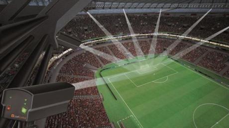 GoalControl hat von der FIFA nahezu den «Zuschlag» für die WM bekommen. Quelle: FIFA/GoalControl