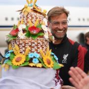 Will auch nach dem Königsklassen-Endspiel gegen Real Madrid Grund zum Lachen haben:Liverpool-Coach Jürgen Klopp. Foto: Getty/dpa