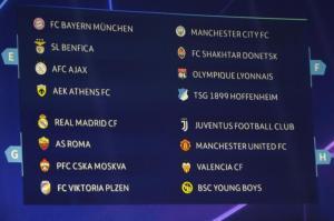 FC Bayern trifft in Champions League auf Benfica, Ajax und Athen