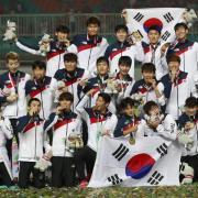 Heung-Min Son hat mit Japans Team das Finale der Asienspiele gewonnen. Foto: Bernat Armangue/AP