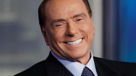 Mischt wieder im Fußballgeschäft mit:Silvio Berlusconi. Foto: Andrew Medichini