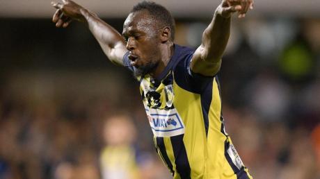 Usain Bolt spielt in Australien für die Central Coast Mariners.