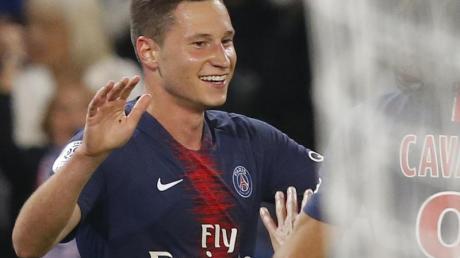 Hat mit Paris Saint-Germain im 24. Saisonspiel den 21. Sieg geholt: Julian Draxler.