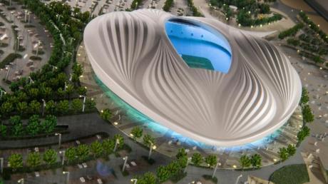 Wird neu eröffnet: Das Al Wakrah Stadion in Doha.