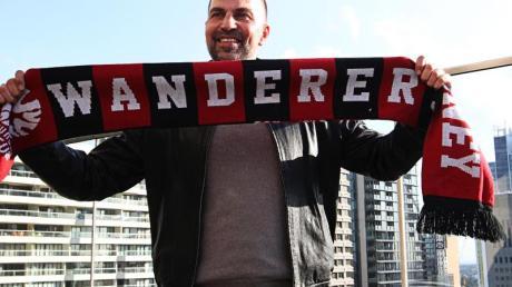 Würde Franck Ribéry gerne in Sydney begrüßen: Wanderers-Coach Markus Babbel. Foto: Danny Casey/AAP