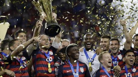 Die US-Mannschaft gewann den Gold Cup 2017.