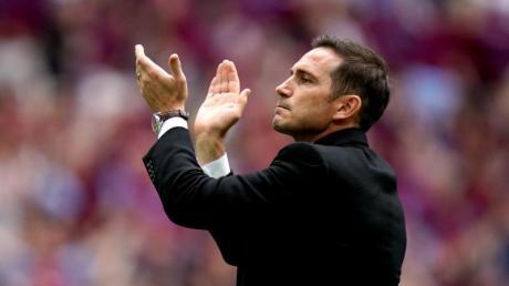 Frank Lampard könnte als Trainer zum FC Chelsea zurückkehren. Foto: John Walton/PA Wire