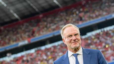 Karl-Heinz Rummenigge appelliert an die deutschen Clubs auf internationaler Bühne Muskeln zu zeigen. Foto:Matthias Balk