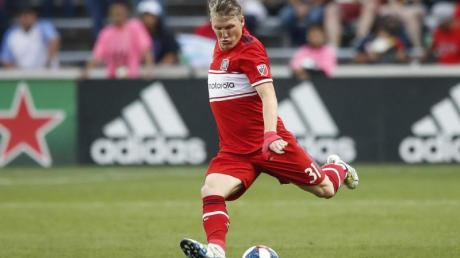 Konnte mit Chicago immerhin noch einen Punkt ergattern: Bastian Schweinsteiger.