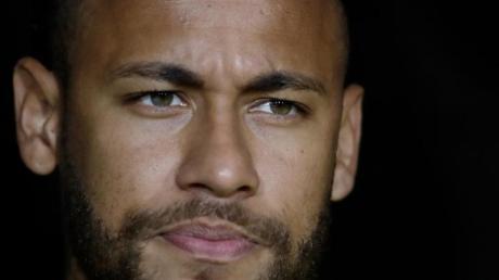 Ist gegen Racing Straßburg für die Startelf von PSG nominiert: Starspieler Neymar. Foto: Marcio Jose Sanchez/AP