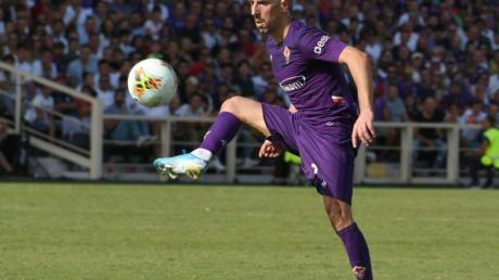 Für den AC Florenz am Ball: Franck Ribery in Aktion.