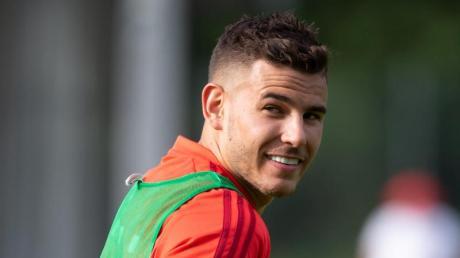 Kann mit dem FC Bayern gegen Tottenham Hotspur antreten: Lucas Hernández. Foto: Sven Hoppe