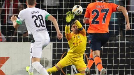 Gladbach bot erneut eine enttäuschende Vorstellung in der Europa League. Foto: Friso Gentsch/dpa