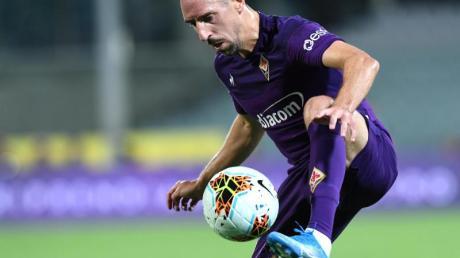 Wurde in Italien zum Spieler des Monats September gewählt: Franck Ribéry von AC Florenz.