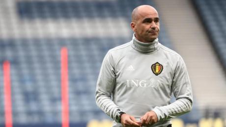 Kann mit Belgien das EM-Ticket lösen: Coach Roberto Martinez. Foto: Virginie Lefour/BELGA/dpa