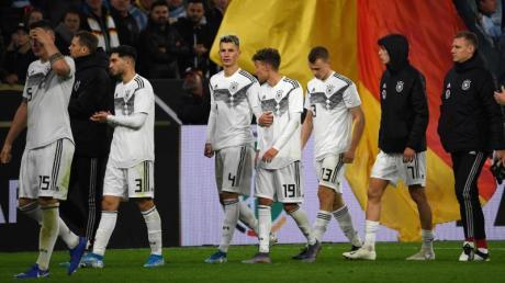 Die DFB-Elf kam gegen Argentinien nicht über ein 2:2 hinaus. Foto: Federico Gambarini/dpa