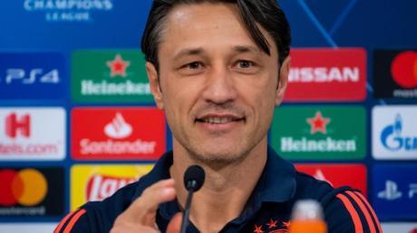 Ist mit dem FCBayern in Piräus gefordert: Bayern-Coach Niko Kovac. Foto: Sven Hoppe/dpa