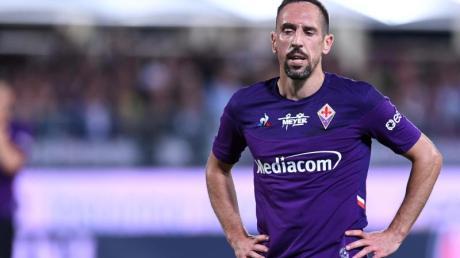 Sah gegen Lazio die Rote Karte: Franck Ribéry.