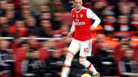Konnte in der Premier League wieder für den FC Arsenal auflaufen: Mesut Özil.