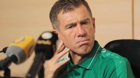 Srecko Katanec, Trainer der irakischen Nationalmannschaft.