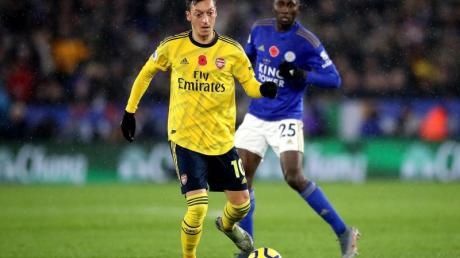 Mesut Özil musste mit dem FCArsenal eine Pleite gegen Leicester verbuchen.