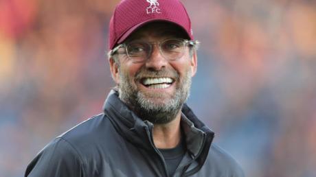 Liverpools Trainer Jürgen Klopp äußerte sich vor dem Heimspiel gegen Manchester City euphorisch über seine Mannschaft. Foto: Richard Sellers/PA Wire/dpa