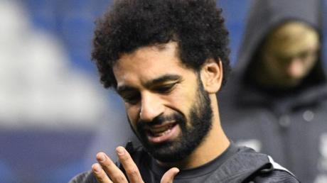 Fällt für Spiele von Ägyptens Naionalteam aus: Mohamed Salah vom FC Liverpool.
